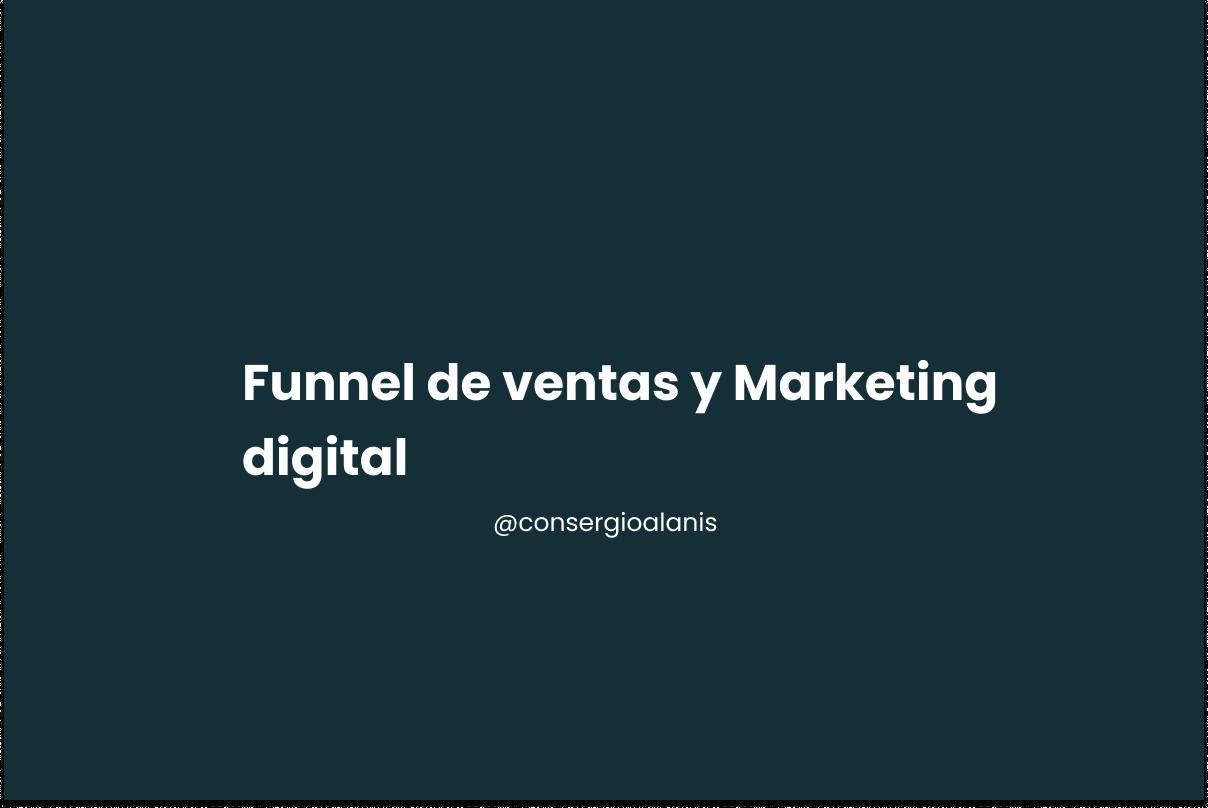 funnel de ventas y marketing digital